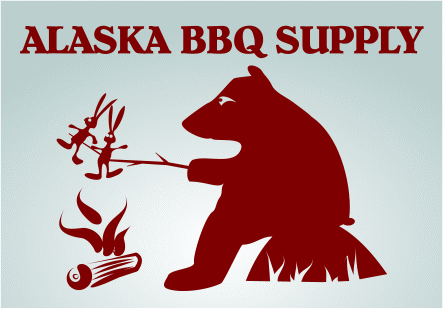 Alaska BBQ Supply logo concept - Kowulz Design