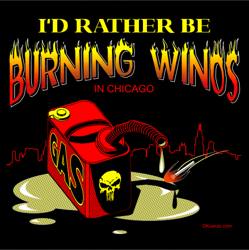 I'd Rather Be Burning Winos
