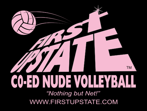 Fisrt Upstate Co-Ed Nude Volleyball T