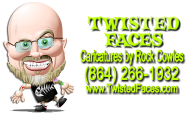 Twisted Faces: Caricatures from Rock Cowles
