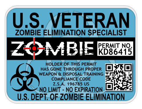 Veteran Zombie Elimination Specialist